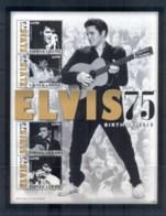 Sierra Leone 2010 Elvis Presley 75th Birthday MS MUH - Sierra Leone (1961-...)