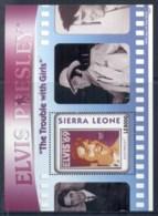 Sierra Leone 2010 Elvis Presley 75th Birthday, The Trouble With Girls MS MUH - Sierra Leone (1961-...)