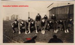 Photographie Originale  Camp D'aviation Américain Issoudun Paudy Indre 1917-1918 - Aviation