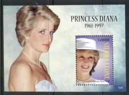 Sierra Leone 2010 Princess Diana Sheetlet MS MUH - Sierra Leone (1961-...)