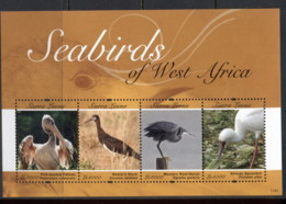 Sierra Leone 2011 Seabirds Of West Africa MS MUH - Sierra Leone (1961-...)