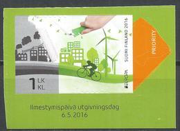Finland 2016. Scott #1516 (MNH) Europa, Think Green ** Complete Issue - Ongebruikt
