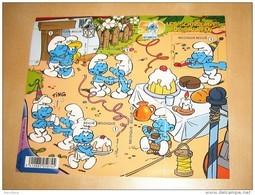 BLOK 159** 3809/13** Postfris 50 Jaar Smurfen / Les Schtroumpfs / The Smurfs / Peyo - Blocs 1962-....