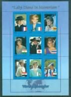 Somali Republic 1997 Princess Diana In Memoriam MS MUH Lot82041 - Somalia (1960-...)