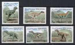 Somali Republic 1999 Prehistoric Animals, Dinosaurs MUH - Somalia (1960-...)