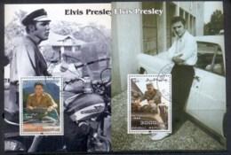 Somali Republic 2004 Elvis Presley, Cars 2x MS CTO - Somalia (1960-...)