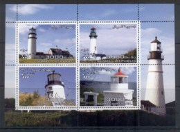 Somali Republic 2004 Lighthouse MS CTO - Somalia (1960-...)