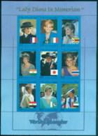 Somalia 1997 Princess Diana In Memoriam, Ambassador To The World MS MUH - Somalia (1960-...)