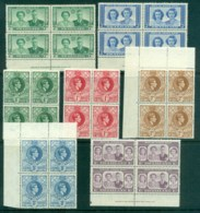 Swaziland 1947 On Assorted Oddments (faults) Blocks MLH - Swaziland (1968-...)
