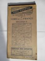 Livret Guides Du Touriste THIOLIER DE 1923 - NORD De La FRANCE & BELGIQUE - 100 Pages - 18 Photos - Dépliants Touristiques