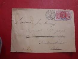 Des Colonies Françaises Enveloppe Circulé 1910 - Brieven En Documenten