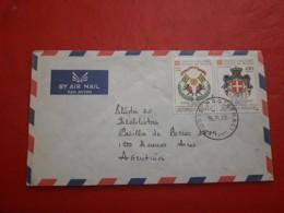 Le Togo Enveloppe Circulé En Argentine - Togo (1960-...)