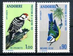 1973 ANDORRA FRANCESE SET MNH ** - Andorra Francese