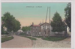 CPA COLORISEE B35-ARNOUVILLE- LE MOULIN-maisons-arbres - Arnouville Les Gonesses