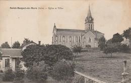 Isére : SAINT-BONNET-de-MURE : église Et Villas - Other Municipalities