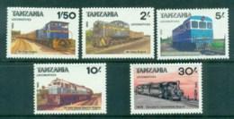 Tanzania 1985 Trains (5) MUH - Swaziland (1968-...)