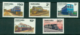 Tanzania 1985 Trains MUH Lot21323 - Swaziland (1968-...)