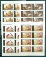 Tanzania 1986 Audubon Birds Sheetlets MUH - Swaziland (1968-...)
