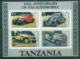 Tanzania 1986 Automobile Centenary MS Lot84781 - Swaziland (1968-...)