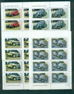 Tanzania 1986 Vintage Cars 4x Sheetlet MUH - Swaziland (1968-...)