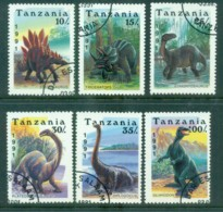 Tanzania 1991 Dinosaurs CTO Lot84786 - Swaziland (1968-...)