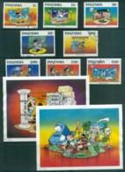 Tanzania 1991 Disney, Mickey As Actor + 2x MS FU Lot80106 - Swaziland (1968-...)