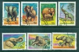 Tanzania 1991 Elephants CTO Lot84789 - Swaziland (1968-...)