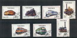 Tanzania 1991 Trains CTO - Swaziland (1968-...)