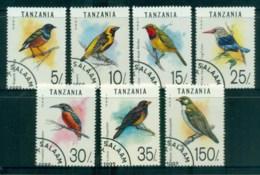 Tanzania 1992 Birds CTO Lot84799 - Swaziland (1968-...)