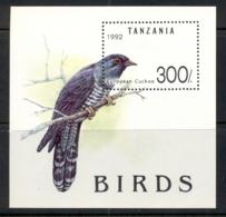 Tanzania 1992 Birds MS MUH - Swaziland (1968-...)