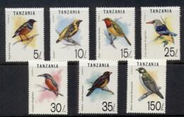 Tanzania 1992 Birds MUH - Swaziland (1968-...)