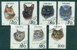 Tanzania 1992 Cats CTO Lot84800 - Swaziland (1968-...)