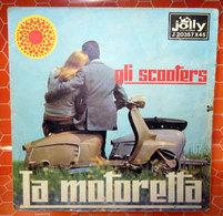 """GLI SCOOTERS LA MOTORETTA COVER NO VINYL 45 GIRI - 7"""" - Accessori & Bustine"""