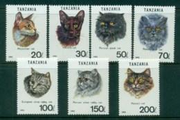 Tanzania 1992 Cats MUH - Swaziland (1968-...)