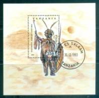 Tanzania 1993 Historical African Costumes MS CTO Lot84816 - Swaziland (1968-...)