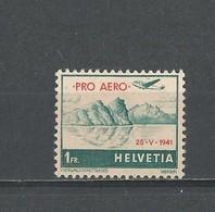 Suisse: PA 34a * - Oblitérés