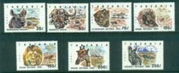 Tanzania 1993 National Parks MUH - Swaziland (1968-...)