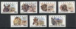Tanzania 1993 National Parks Wildlife MUH - Swaziland (1968-...)