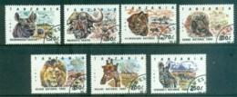 Tanzania 1993 National Parks, Wildlife CTO Lot84806 - Swaziland (1968-...)
