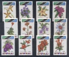 Tanzania 1993 Pictorials, Flowers MUH - Swaziland (1968-...)