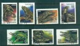 Tanzania 1993 Reptiles CTO Lot84803 - Swaziland (1968-...)