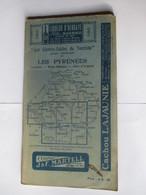 Livret Guides Du Touriste THIOLIER De 1924 - LES PYRENEES - LUCHON / PAYS BASQUE / CÔTE D' ARGENT -100 Pages - 22 Photos - Dépliants Touristiques
