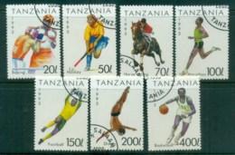 Tanzania 1993 Sports CTO Lot84801 - Swaziland (1968-...)