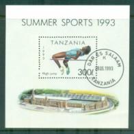 Tanzania 1993 Sports MS CTO Lot84814 - Swaziland (1968-...)