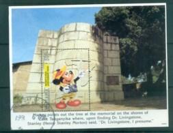 Tanzania 1994 Disney, Disney Characters On Tour, Dr Livingstone MS FU Lot80101 - Swaziland (1968-...)