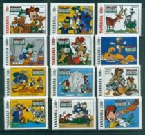 Tanzania 1994 Disney, Safari Club MUH Lot80093 - Swaziland (1968-...)