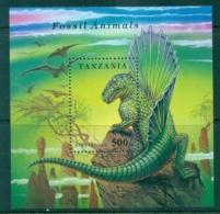 Tanzania 1994 Fossils, Dinosaur MUH - Swaziland (1968-...)