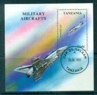 Tanzania 1994 Military Aircraft MS CTO Lot84807 - Swaziland (1968-...)