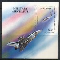 Tanzania 1994 Military Aircraft MS MUH - Swaziland (1968-...)