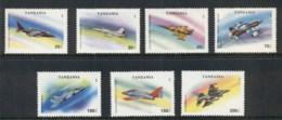 Tanzania 1994 Military Aircraft MUH - Swaziland (1968-...)